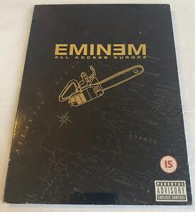 DVD - Eminem All Access Europe 2002 (Region Free)