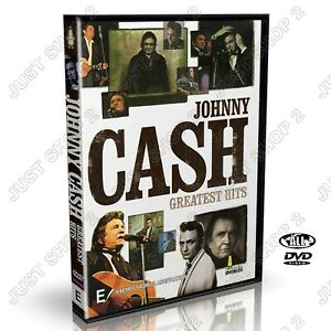 Johnny Cash Greatest Hits DVD : Country & Western Music :Brand New