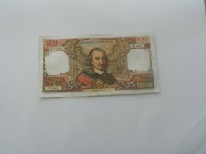 billet 100 francs corneille 1975 v.903
