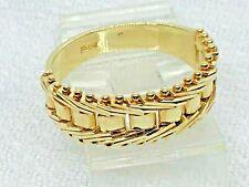 14k FLEX RING DIAMOND CUT MESH FRONT SIZE