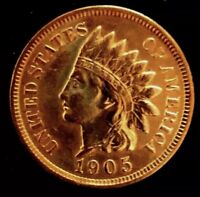 *MAKE-A-$285 OFFER*= 1905 RED INDIAN HEAD PENNY MS/BU/PL *FULL LIBERTY~4 DIAs*