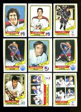 1976 O-PEE-CHEE WHA HOCKEY NEAR COMPLETE SET 127/132 NMMT *99481