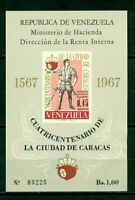 Venezuela Scott #C958 NOTE MNH S/S Founding of Caracas 400th ANN RED CV$45+