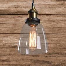 Glas Hängeleuchte Vintage Retro Pendelleuchte Blackburn Loft Edison Hängelampe!!