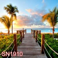 Outdoor Beach Sea 10x10 FT CP SCENIC PHOTO BACKGROUND BACKDROP SN1910