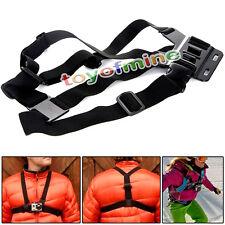 3 2 1 Camera Holder Strap+Adjustable Chest Belt Strap Mount For GoPro  Hero