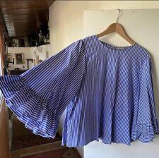 womens bell sleeve blouse xl