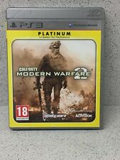 JEUX PS3 CALL OF DUTY MODERN WARFARE 2 PLATINUM AVEC NOTICE PLAYSTATION