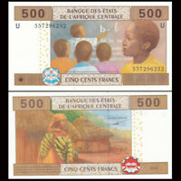 Central African, Cameroun 500 Francs, 2002(2015), P-206Ud, Hybrid, Banknote, UNC
