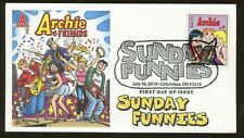 2010 Columbus Ohio - Archie & Friends - Sunday Funnies Fleetwood FDC
