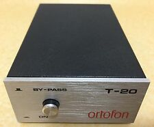 Ortofon T-20 MC Step-Up Transformer, Moving Coil, Phono, Made in Dänemark