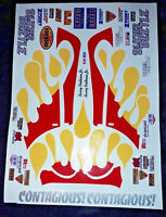 King Cab 1//10 RC Stickers Decal Sheet Precut Customized  Vintage 80s-90s