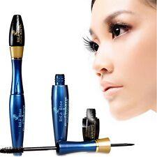 2Pcs Natural Lash Extension Eyelash Long Curling Black Mascara + 3D Fiber Lashes