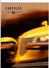 1999 CHRYSLER Range Australian 4 Page Brochure NEON VOYAGER PT CRUISER PLYMOUTH