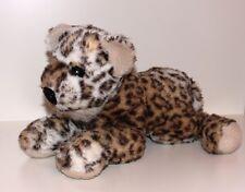 SIGIKID LEOPARD liegend Tiger Baby Stofftier Kuscheltier Plüschtier älter 32 cm
