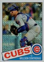 2020 Topps Update 1985 Topps Chrome Silver Pack #CPC-13 Willson Contreras Cubs