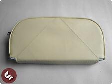 Vespa/lambretta resto trasero Slipover cover/pad Crema