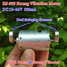 DC12V-24V RS-555 Motor Strong Vibration Motor Massager Dual Hammer S200
