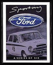 SPORTING FORD - Collectors Card Set - GT40 Capri RS3100 Escort Twin Cam & RS2000
