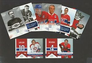 2008-09  UPPER DECK MONTREAL CANADIENS CENTENNIAL SP'S FINISH YOUR SET U-PICK
