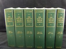 G.E.Cory The Rise of South Africa,Vols 1-6  1820-1857 Published C.Struik 1964