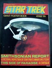 1977 Star Trek Giant Poster Book Voyage Ten 10 Enterprise Cover