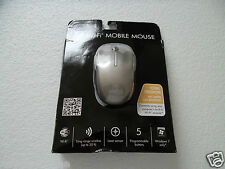 HP 5-Button Wireless Mobile Laser Mouse 1600 DPI Tilt-Wheel Black QA232AA