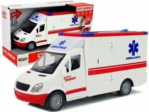 Kinder Spielzeug Krankenwagen 1:16 mit Licht & Sound ! Neu & Ovp!!