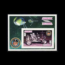 Ras Al Khaima, Bl131B, Mnh,1972, S/S, Space, Apollo 16, 1218.
