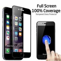 2X iPhone 6 3D Full Cover iPhone 6s Panzerglas Schutzfolie Panzerfolie SCHWARZ