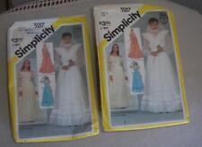 2 Vintage Women Sewing Patterns Dress 1981 Simplicity 5217 Sz 14 & 16 Gunne Sax
