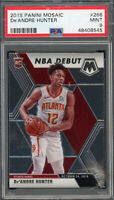 De'Andre Hunter Hawks 2019 Panini Mosaic Rookie Card #266 PSA 9 MINT