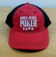 WORLD SERIES OF POKER Las Vegas Official WSOP Adjustable Strap Strapback CAP HAT