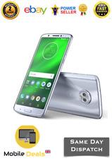 New Motorola Moto G6 Plus XT1926-3 Dual Sim Unlocked 4GB+64GB 4G LTE Nimbus Blue