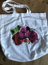 Jo Malone Cologne Red Roses Perfume Cotton Tote Bag Limited Edition Shopper Gift