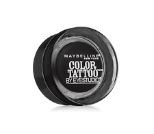 MAYBELLINE Color Tattoo Metal By Eyestudio 24HR Eye shadow 100 Dramatic BlackNEW