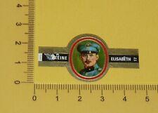 BAGUE CIGAR CIGARE REINE ELISABETH AVIATION GUERRE 14-18 BELGIQUE E. THIEFFRY