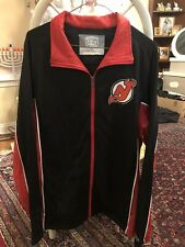 New Jersey Devils Jacket Causeway Collection Large NHL HOCKEY **LQQK**