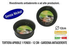 Guardini 85112ee Tortiera apribile 1 fondo acciaio Nero