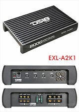 DS18 EXL-A2K1 MONOBLOCK CAR SUBWOOFER AMPLIFIER MONO 1 CHANNEL 2000W MAX SUB AMP