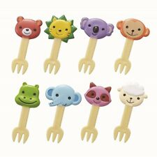 Bento Box Decoration -  Lion Koala Bear food fork picks 8pcs