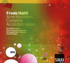 rne Nordheim - Arne Nordheim Complete Accordion Works [CD]