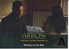 Arrow Season 2 Red Foil Parallel Base Card #31 Writing?s on the Wall
