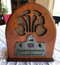 RADIO ONLY - Crosley CR32CD Cathedral Retro Vintage Table Top AM/FM Parts Repair