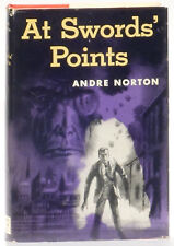 Andre Norton At Swords' Points 1954 Harcourt hardcover/dust jacket
