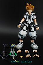 Square Enix Kingdom Hearts 2 SORA white ver. Play Arts Kai Action Figure No Box