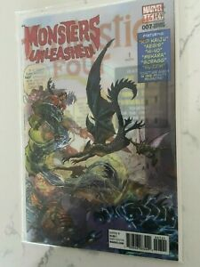 Monsters Unleashed #7 Lenticular Variant Fantastic Four #1 Homage NM Beauty!