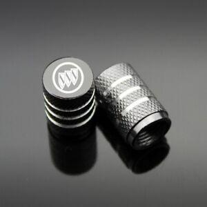 4Pcs Car Valve Stem Cap Aluminum Tire Wheel Rim Dust Cover Logo fit Buick