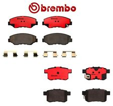For Honda Accord 2008-2017 Front And Rear Disc Brake Pads Set Ceramic Brembo