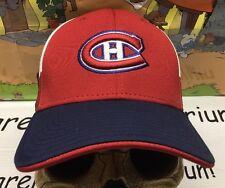 MONTREAL CANADIENS Reebok Hat Cap NEW NWOT Stretch FlexFit SuperFlex OSFA